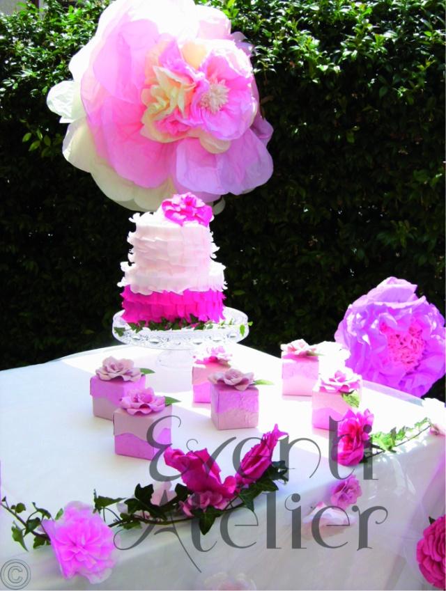torta fiori giganti